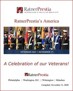RatnerPrestia's America - A Celebration of our Veterans!